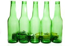Alkohol- im Strassenverkehrkonzept Lizenzfreies Stockfoto