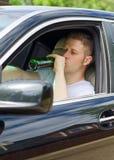 Alkohol- oder Drogenmissbrauch am Steuer Lizenzfreies Stockfoto