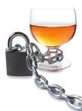 Alkohol und Kette Stockbilder