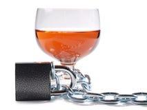 Alkohol und Verschluss Lizenzfreies Stockbild