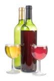 Alkohol w butelce obrazy stock