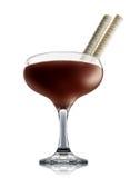 Alkoholcocktail lokalisiert auf weißem Hintergrund Lizenzfreie Stockfotos