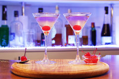 Alkoholcocktailluftfahrt lizenzfreies stockbild