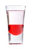 Alkoholcoctail som isoleras på vit Arkivbilder