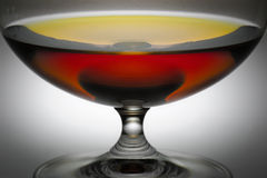 alkoholexponeringsglas Royaltyfri Fotografi