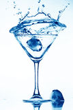 alkoholfärgstänk Royaltyfri Bild