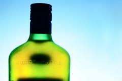 Alkoholflasche lizenzfreies stockfoto