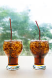 Alkoholfreie Getränke, Bonbon, durstlöschende alkoholfreie Getränke sind populär stockfoto