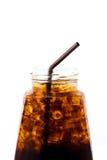 Alkoholfreies Getränk des Eises in der Flasche Stockbild