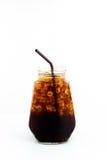 Alkoholfreies Getränk des Eises in der Flasche Stockbilder