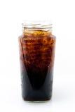 Alkoholfreies Getränk des Eises in der Flasche Lizenzfreie Stockfotos