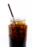 Alkoholfreies Getränk des Eises in der Flasche Lizenzfreies Stockbild