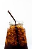 Alkoholfreies Getränk des Eises in der Flasche Lizenzfreies Stockfoto