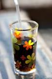 Alkoholfreies Getränk im Glas Lizenzfreies Stockfoto
