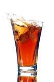 Alkoholfreies Getränk mit einem Spritzen Lizenzfreies Stockfoto