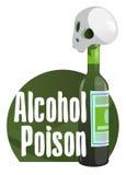 Alkoholgift Arkivbilder