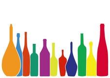 Alkoholhintergrund Lizenzfreie Stockfotos