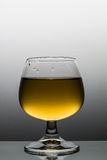 Alkoholic napój w Wineglass Obraz Stock