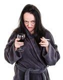 Alkoholiczka Zdjęcia Stock
