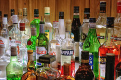 alkoholiczni inkasowi napoje Obrazy Royalty Free