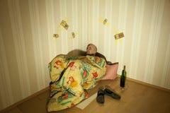 Alkoholiker Stockfoto