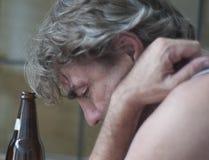 Alkoholiker Lizenzfreie Stockfotos