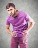 Alkoholiker Stockfotos