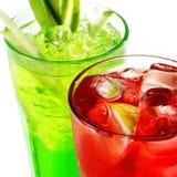 Alkoholische Cocktails lizenzfreies stockbild