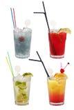 Alkoholische coktails Stockbilder