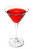 Alkoholisches Cocktail - kosmopolitisch lizenzfreies stockbild