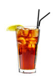 Alkoholisches Cocktail von Coca Cola Lizenzfreie Stockbilder