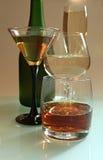 Alkoholisches Getränk stockbild