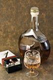 Alkoholisches Getränk und Tabak Stockbilder