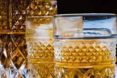 Alkoholisches Getr?nk mit Eis stockbilder