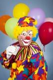alkoholiserad clown Arkivfoto