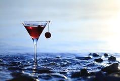 alkoholiserad drink Arkivbild