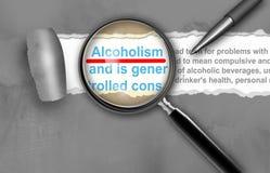 Alkoholism Royaltyfria Foton