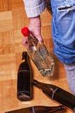 Alkoholismus Lizenzfreies Stockbild