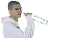 Alkoholismus der Kinder lizenzfreies stockfoto
