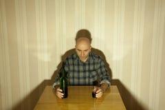 alkoholist Royaltyfria Bilder