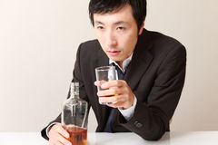 alkoholizm Obraz Stock