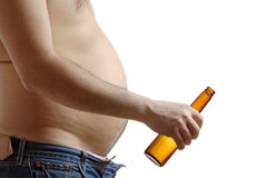 Alkoholmissbrauch lizenzfreie stockbilder