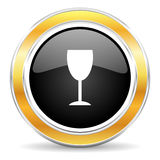 alkoholsymbol Royaltyfri Foto