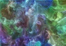 Alkoholu atrament, akrylowy, akwareli kolorowy abstrakcjonistyczny t?o obrazy stock
