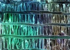 Alkoholu atrament, akrylowy, akwareli kolorowy abstrakcjonistyczny t?o ilustracja wektor