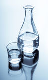 alkoholu karafki szkło Zdjęcie Stock