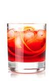 alkoholu koktajlu kolekci negroni Zdjęcia Stock