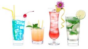 alkoholu koktajlu rzędu różnica Obrazy Royalty Free