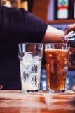 Alkoholu napój obrazy stock