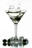alkoholu pluśnięcie Zdjęcia Stock